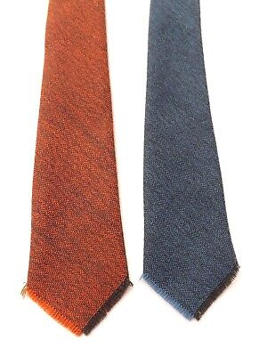 Vintage 1950s MOFFAT FOUR in ONE Wool Neck Tie Four Different Blades FREE P&P