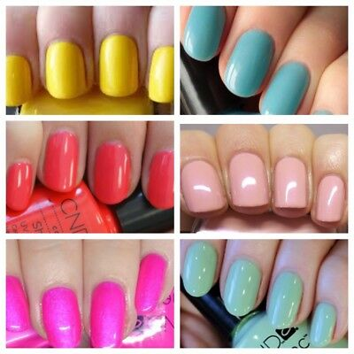 CND Shellac Gel Nail Polish Collection ***UNBOXED** 7.3ml Bottle CLEARANCE!!