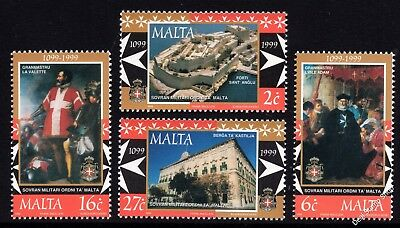 Malta 1999 Sovereign Military Order Complete Set SG 1094 - 7 Unmounted Mint
