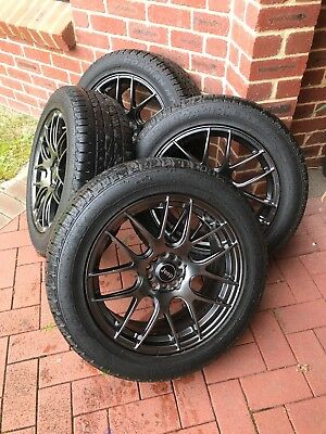 Jeep KL Cherokee Wheels/Tyres (with TPMS sensors) 18x7.5 & 235/55