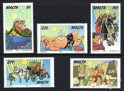 Malta 1999 Tourism Complete Set SG 1107 - 1111 Unmounted Mint
