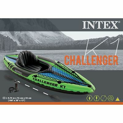 Intex Challenger K1 - de kayak hinchable + remo