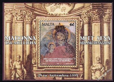 Malta 1999 Mellieha Sanctuary Comm. Miniature Sheet SG MS1133 Unmounted Mint