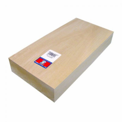 Midwest Products 4430 Micro-Cut Quality Basswood Block Bundle, 2 by 6 by 12-Inch