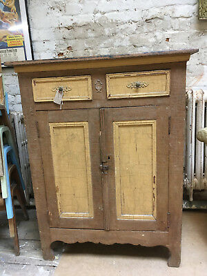 Vintage French Cupboard Cabinet