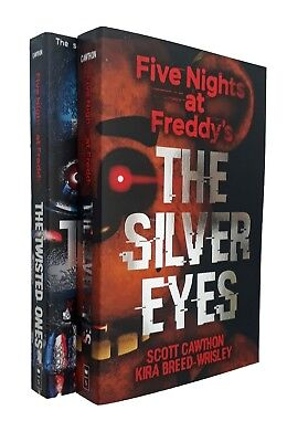 Five Nights at Freddy's Scott Cawthon 2 Books Gaming Kids Horror Teen New