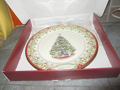 LENOX 2008 Limited Edition CHRISTMAS TREES AROUND THE WORLD ' SPAIN '  PLATE h