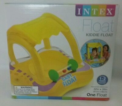 INTEX Kiddie Float for ages 1-2 years old 32 in X 26 in Baby Pool Float M/W 33lb
