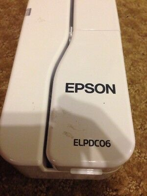 Epson ELPDC06 Document Camera. Comes with USB Cord Power Tested