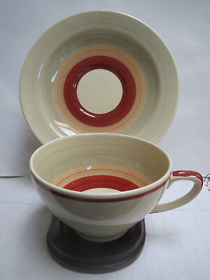 Susie Cooper - Wedding Band Pattern - 11 Cups With 12 Saucers