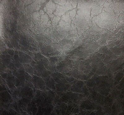 """Vinyl Fabric Faux Leather  Pleather Glamour Upholstery Vinyl 54""""  By the Yard"""