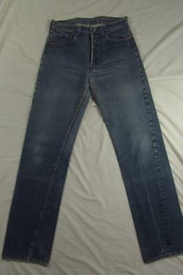Vtg 70s 80s Levi 501 Redline Selvedge Denim Jeans Measure 30x34 Great Fade Nice!