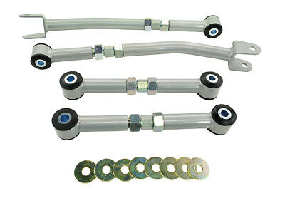 KTA124 Whiteline Rear Control Arm - Lower Front & Rear Arm Assembly (Camber/Toe)