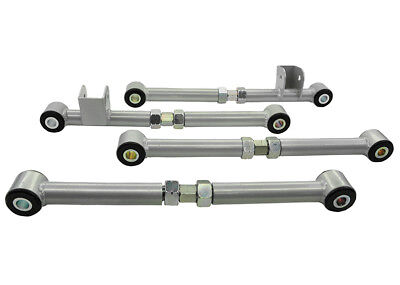 KTA108 Whiteline Rear Control Arm - Lower Front & Rear Arm Assembly (Camber/Toe)