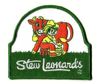 Stew Leonard's Grocery Store / Supermarket. Embroidered Patch Unused