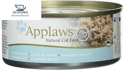 Applaws Douille de Thon Filet pour Chat 24 x 156 g
