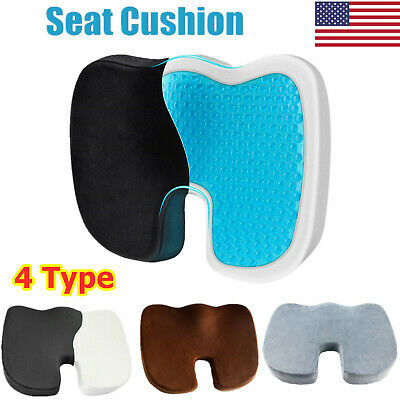 Car Seat Pain Relief Pillow Office Chair Cushion Memory Foam Orthopedic Coccyx