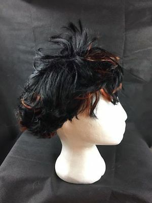 Job Lot 5 Natural Style Wigs.