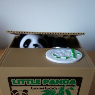Ola Panda Thief Money Boxes Toy Piggy Banks Gift Kids Money Boxes Automatic