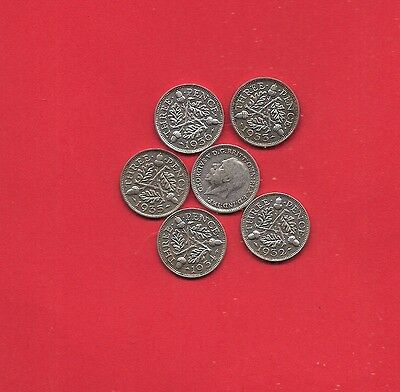 Pick any  GEORGE V SILVER  Threepences you want  from 1931/32/33/34/35/36