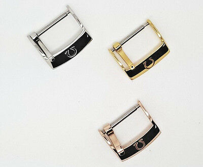 NEW OMEGA 16mm/18mm STAINLESS STEEL/ GOLD PLATED/ ROSE GOLD PLATED BUCKLE
