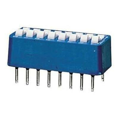 Radioshack Spst 8-Position Dip Switch  P/n: 275-1301