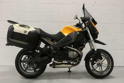 Buell ULYSSES XB12X ** After Market Exhaust - Buell Panniers - Hand Guards **