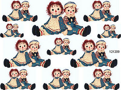 VinTaGe RaGGeDY AnN & AnDY SHaBbY WaTerSLiDe DeCALs