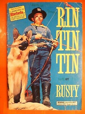 RINTINTIN et Rusty Haine mortelle du Capitaine Malcom- Sagédition 97.Rin Tin Tin