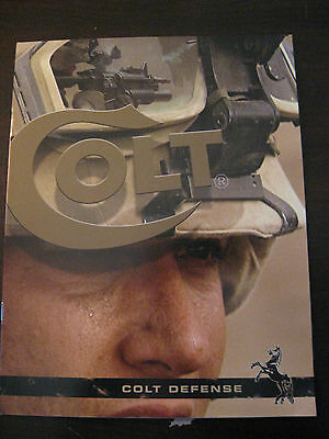 Colt Defense Firearms Military Collectible Catalog Booklet 2006 15 Pages NEW