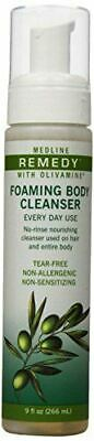 Medline Remedy Olivamine Foaming Body Cleanser Pack of 1