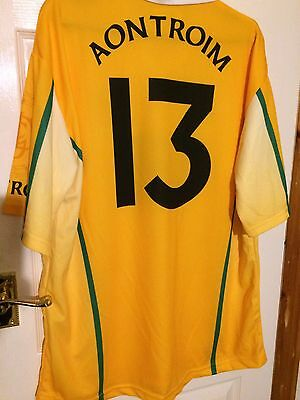 GAA Shirt Top Ireland Gaelic Sports Co Antrim Player Issued Vintage Large Mans.
