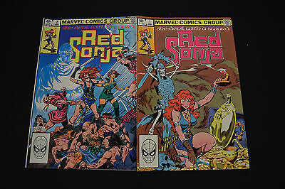 Red Sonja She-Devil With A Sword Comic Books Lot Set 1 2 VF Mini Series