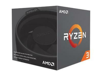 AMD Ryzen3 1200, 4-Core/4 Threads, Max Freq 3.4GHz, 10MB Cache Socket AM4 65W, w