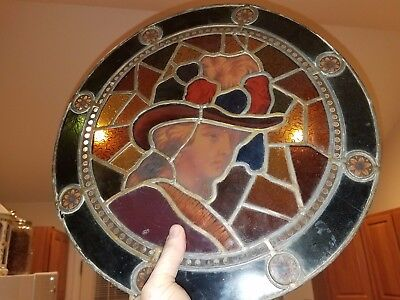 Stained Glass Center Piece From An Unknown Church Beautiful Pennsylvania?