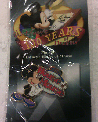 Walt Disney's 100 Years of Dreams Pin #98 Disney's House of Mouse Trading Pin