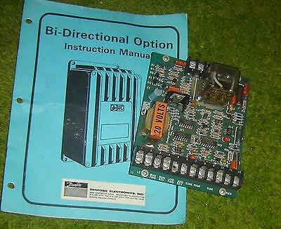 DANFOSS  BI-DIRECTIONAL OPTION to use with a VARI SPEED 150 or other drives 120V