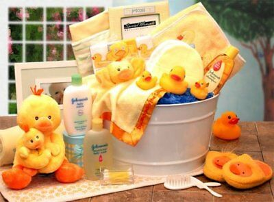 Splish Spalsh Its Time for A Bath Baby Gift Basket