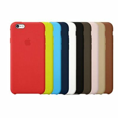 Ultra-thin Original Genuine PU Leather Case Covers for iPhone Apple Series LU