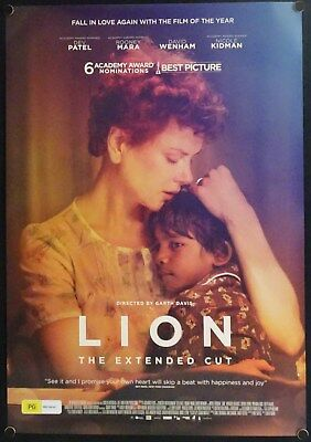 Lion (2016) Australian One Sheet Extended Cut