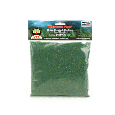 JTT Scenery Products-Medium Blended Turf