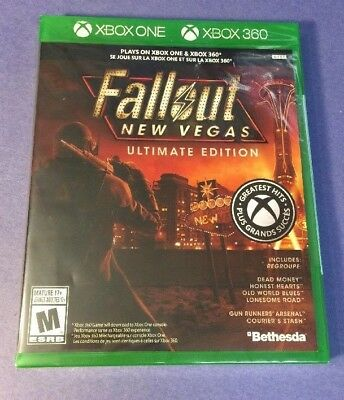 Fallout New Vegas Ultimate Edition [ G2 Case ] (XBOX ONE / XBOX 360) NEW