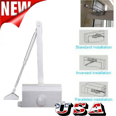Automatic Door Closer Commercial Adjustable Office Business 25-80kg Industrial