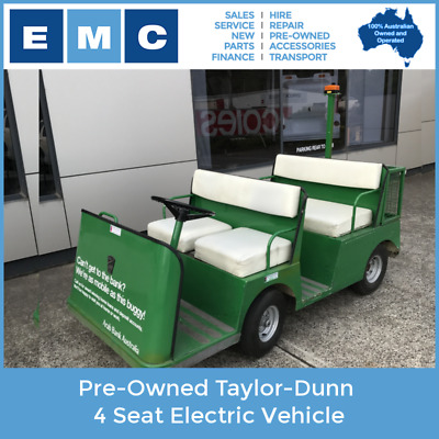Pre-Owned Taylor Dunn Tourmaster Electric Cart