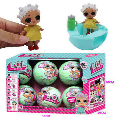 6PCS Surprise Dolls Eggs Ball Series 1  LQL Lil Sisters 7 Layers of Surprise UK