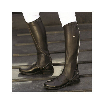 Mark Todd Patent Piped Leather Chaps