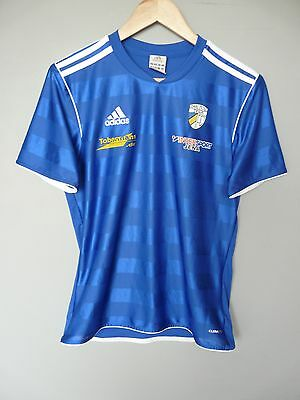 Carl Zeiss Jena Adidas 2013 Football Training Shirt Trikot Jersey Sz Small (270)