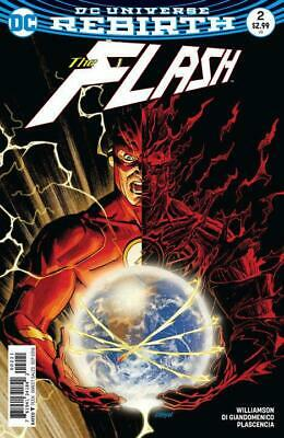 Flash #2 (Vol 5) Variant Cover B by Dave Johnson DC Rebirth