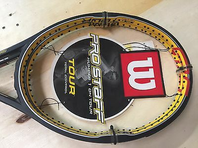 Wilson Pro Staff Tour 90 Matched Pair Tennis Racquet 4 1/2 Brand New