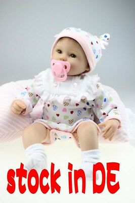Reborn Baby Doll Lifelike Doll Stock in DE Rebornpuppen Chidren Surprise